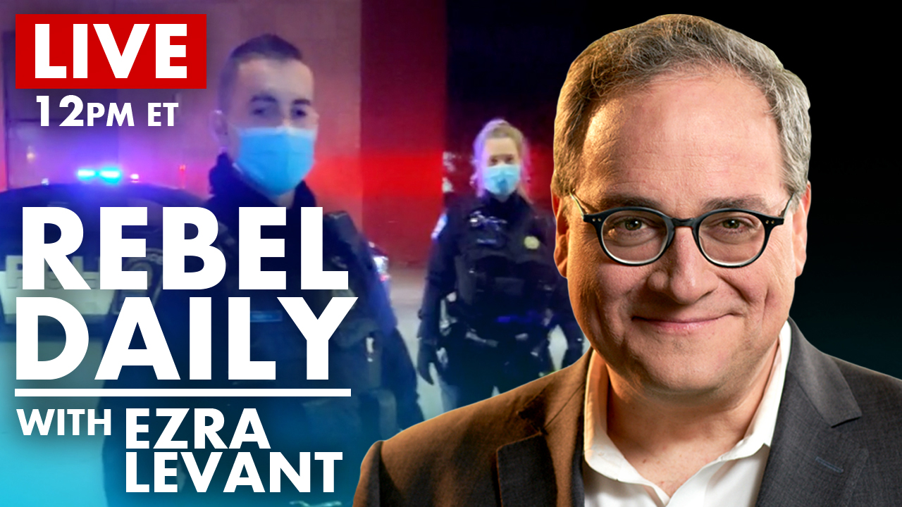 "DAILY | ""JEW MEDIA""? Montreal cops caught on tape, issue THOUSANDS in tickets to Rebel crew"