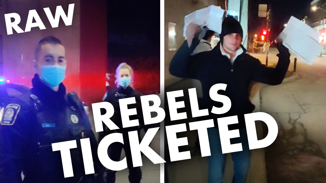 RAW FOOTAGE: Rebel team gets $6,000 worth of tickets in Montreal