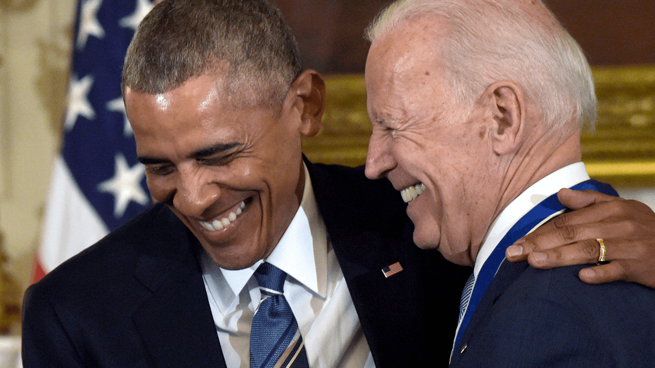 Obama and Biden are in regular contact, White House press secretary says
