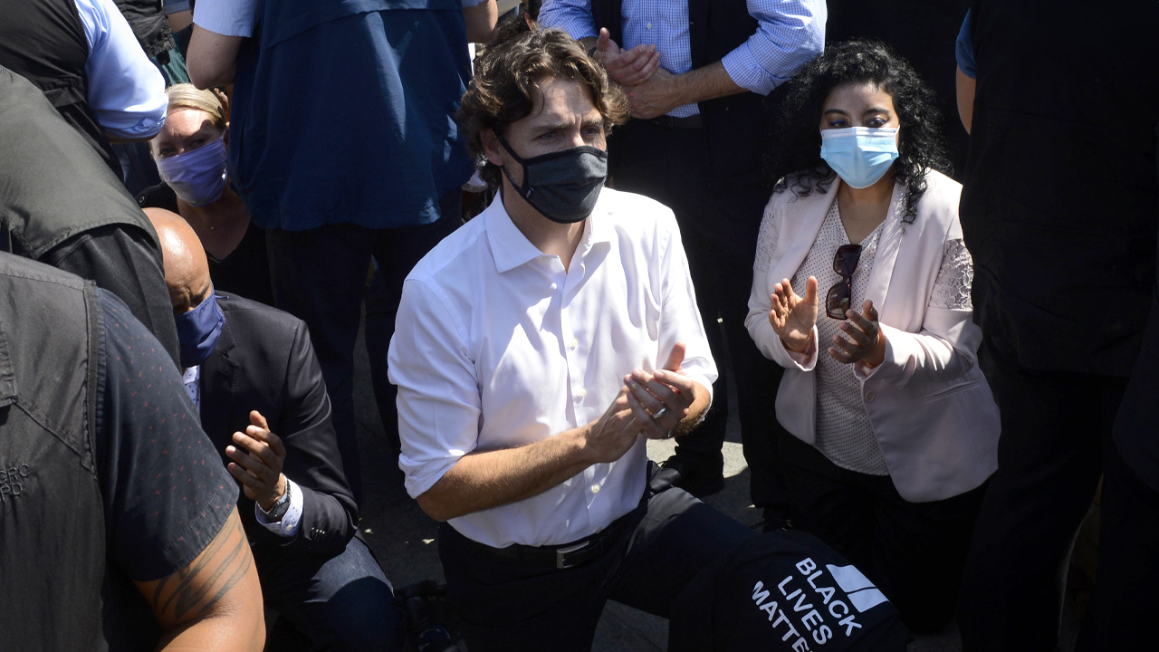 Health Canada preps Trudeau with talking points after BLM protest attendance