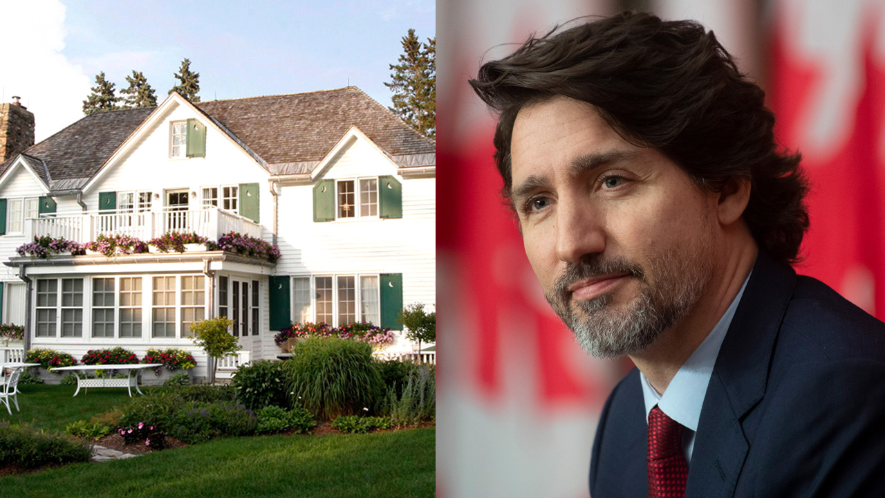 Trudeau spent over $7 million on renovations at Harrington Lake in 2020