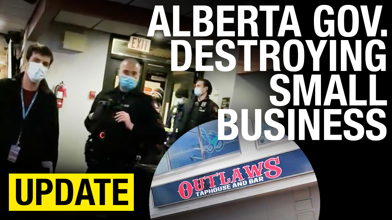UPDATE: Outlaws Taphouse is OUT OF BUSINESS thanks to Alberta government