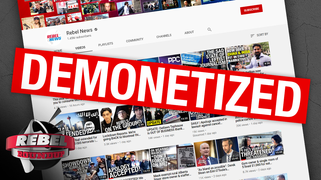 "Silicon Valley is ""The most left-wing place in America"": Ezra Levant on YouTube's demonetization of Rebel News"