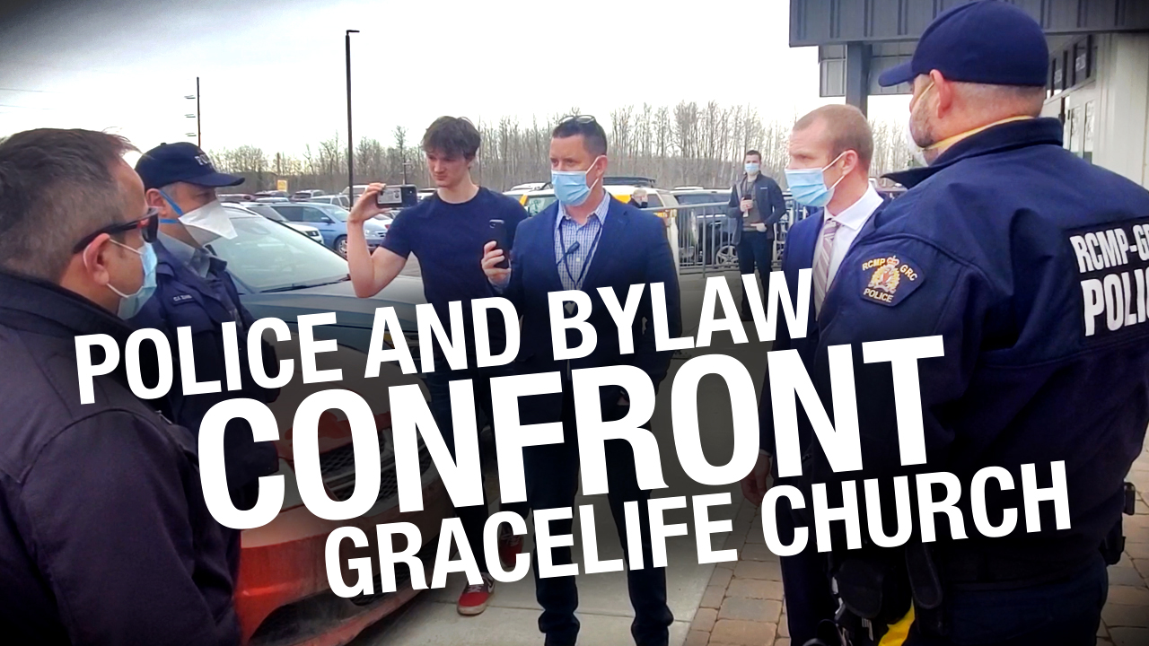 Pastor James Coates returns to GraceLife, RCMP try to disrupt services