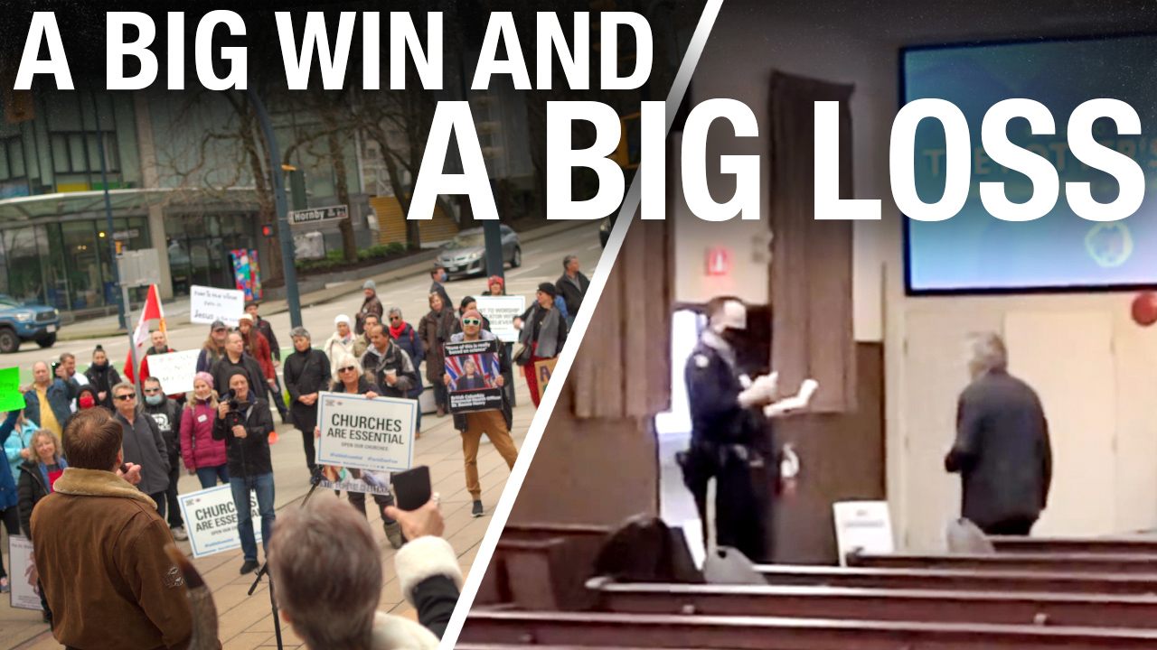 B.C. judge rules to keep churches closed but peaceful protests wide open