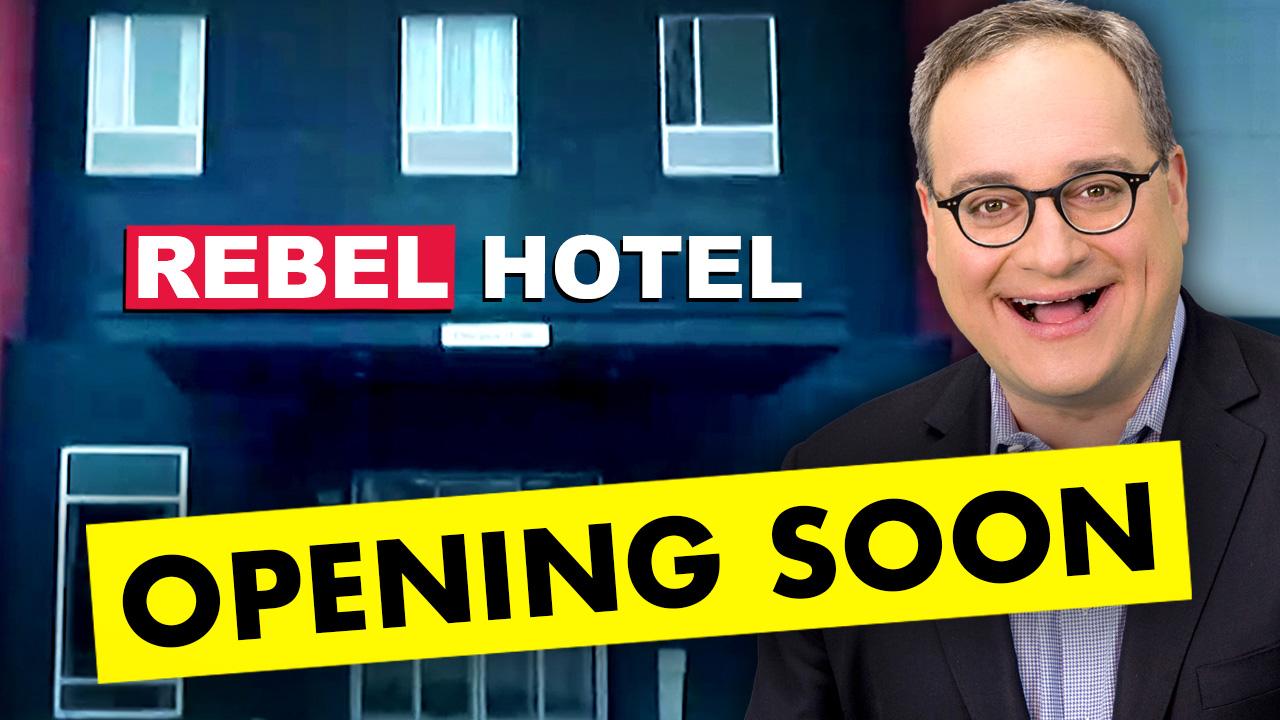 Rebel News opens COVID hotel