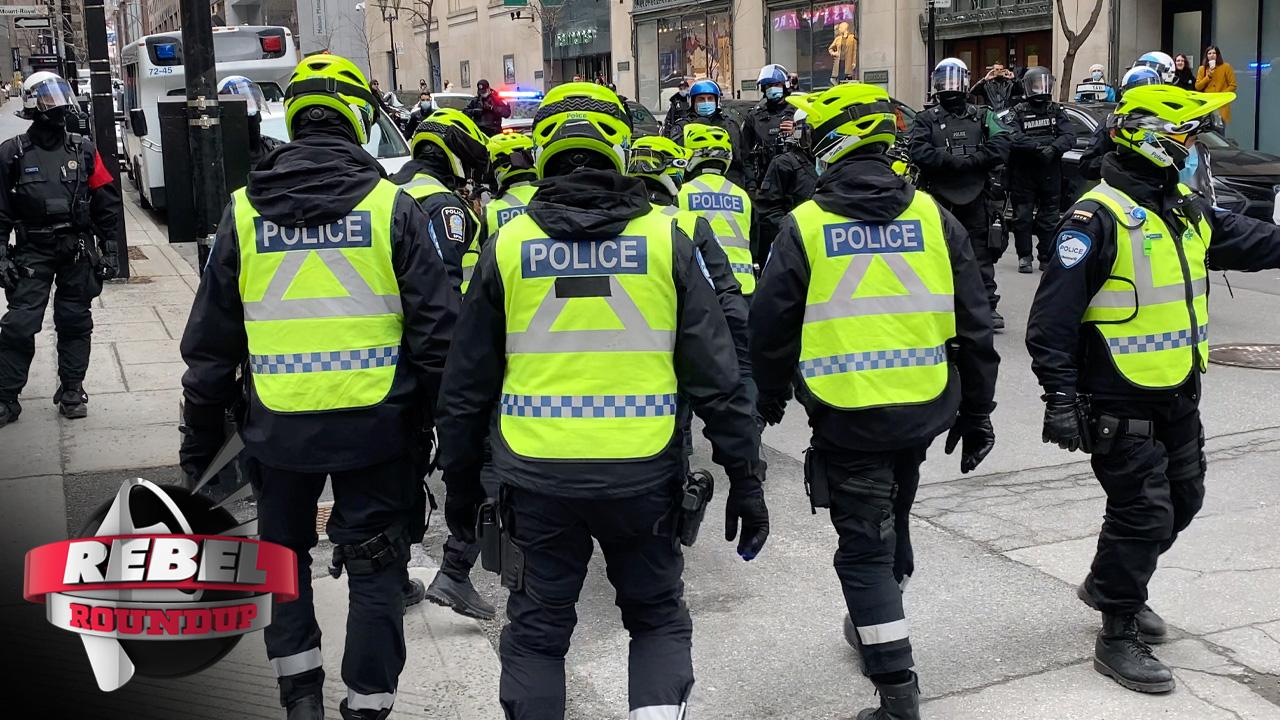 Montreal Cops, Pastor Coates Released