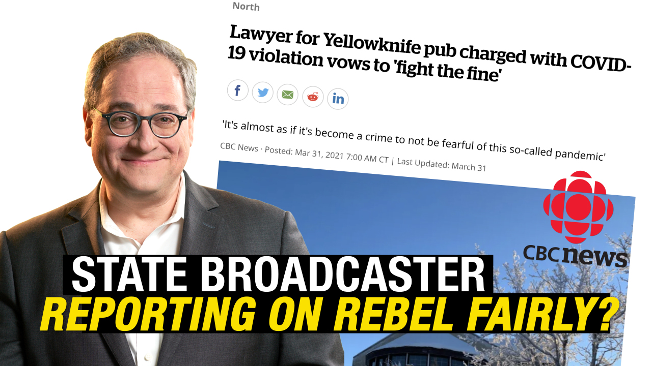 CBC reports on Rebel News Fight The Fines case (and it's positive!)