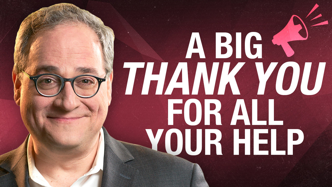 Thanks Rebel viewers, for helping keep us strong and independent