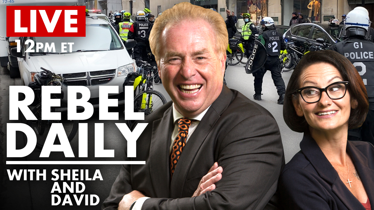 DAILY | GraceLife Protest, Quebec City Cops Threaten Our Reporter With JAIL!
