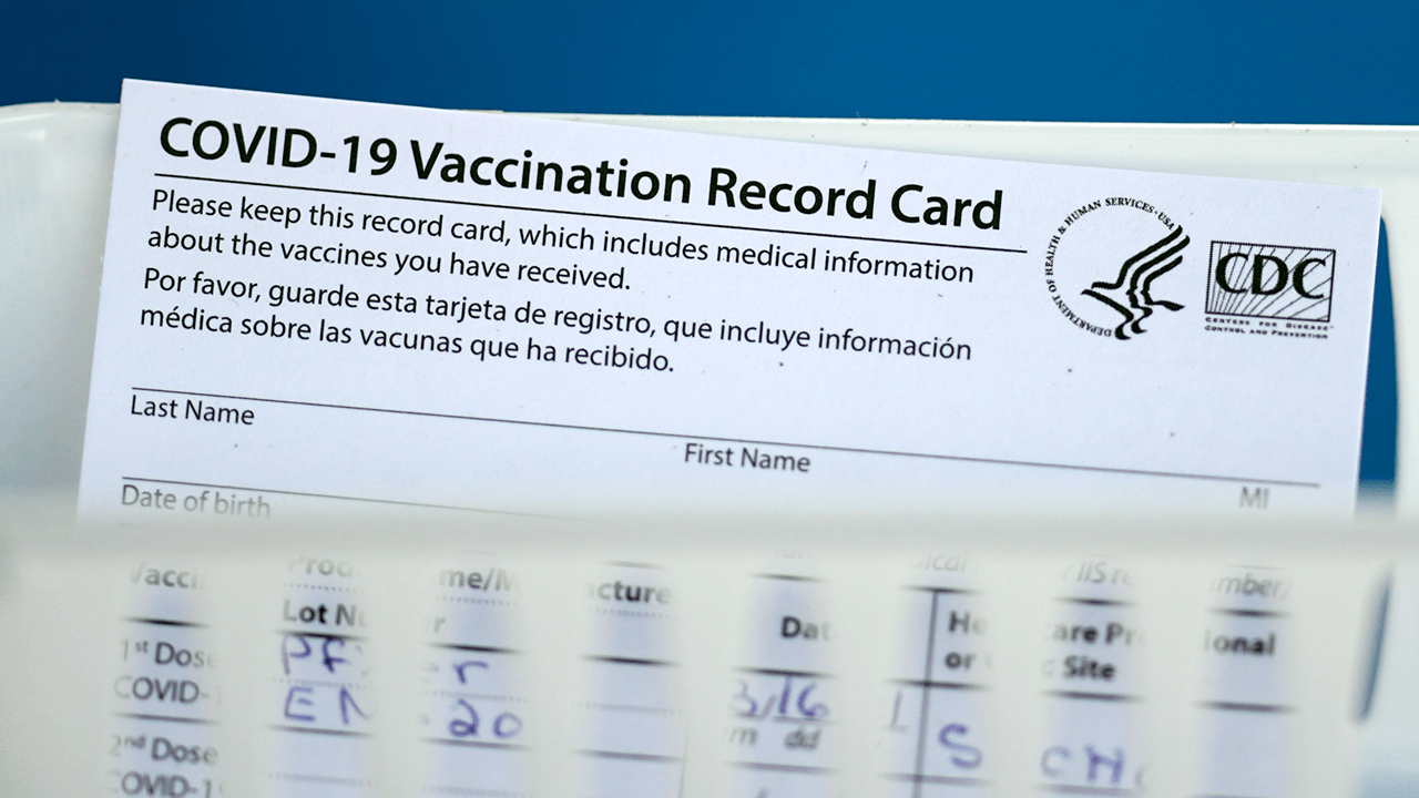 FBI warns making or purchasing fake COVID vaccine cards is illegal