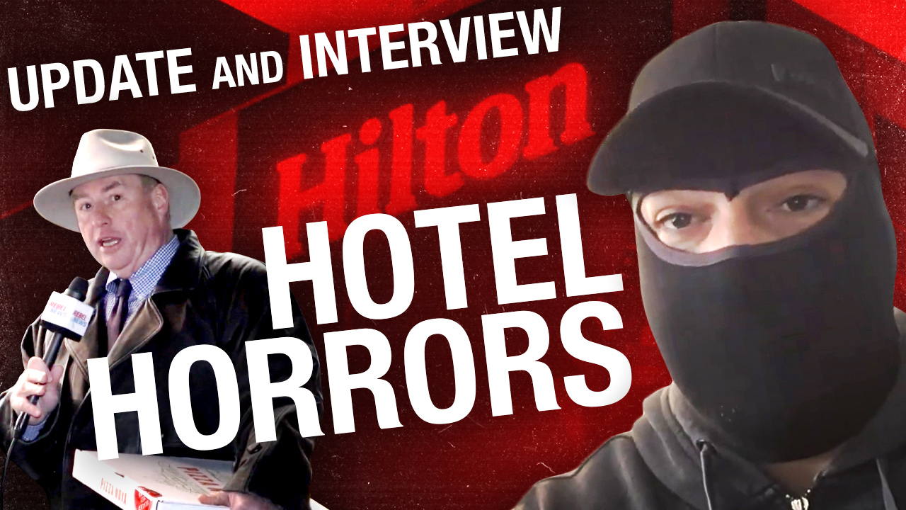 Hilton COVID Hotel inmate shares what his experience inside was like