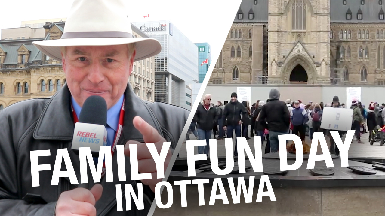 Parliament Hill protesters host Family Fun Day