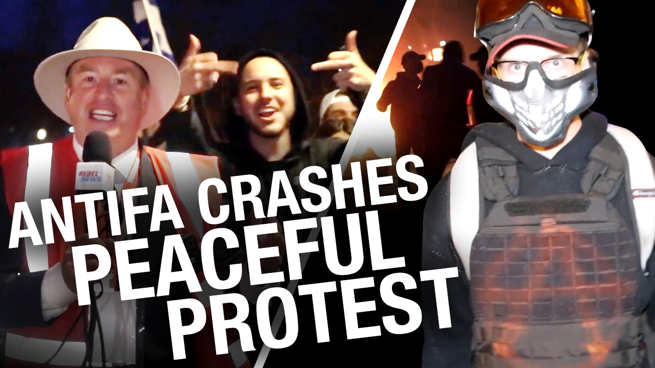Montreal anti-curfew protest devolves into riot