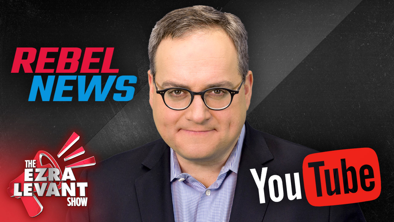 Just before the Canadian election, YouTube suspends our Rebel News channel