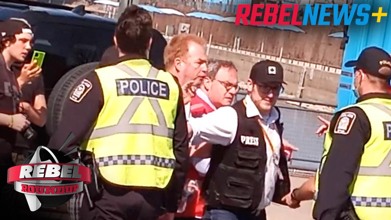 Montreal Raid on Rebel News, GraceLife's Gathering Point