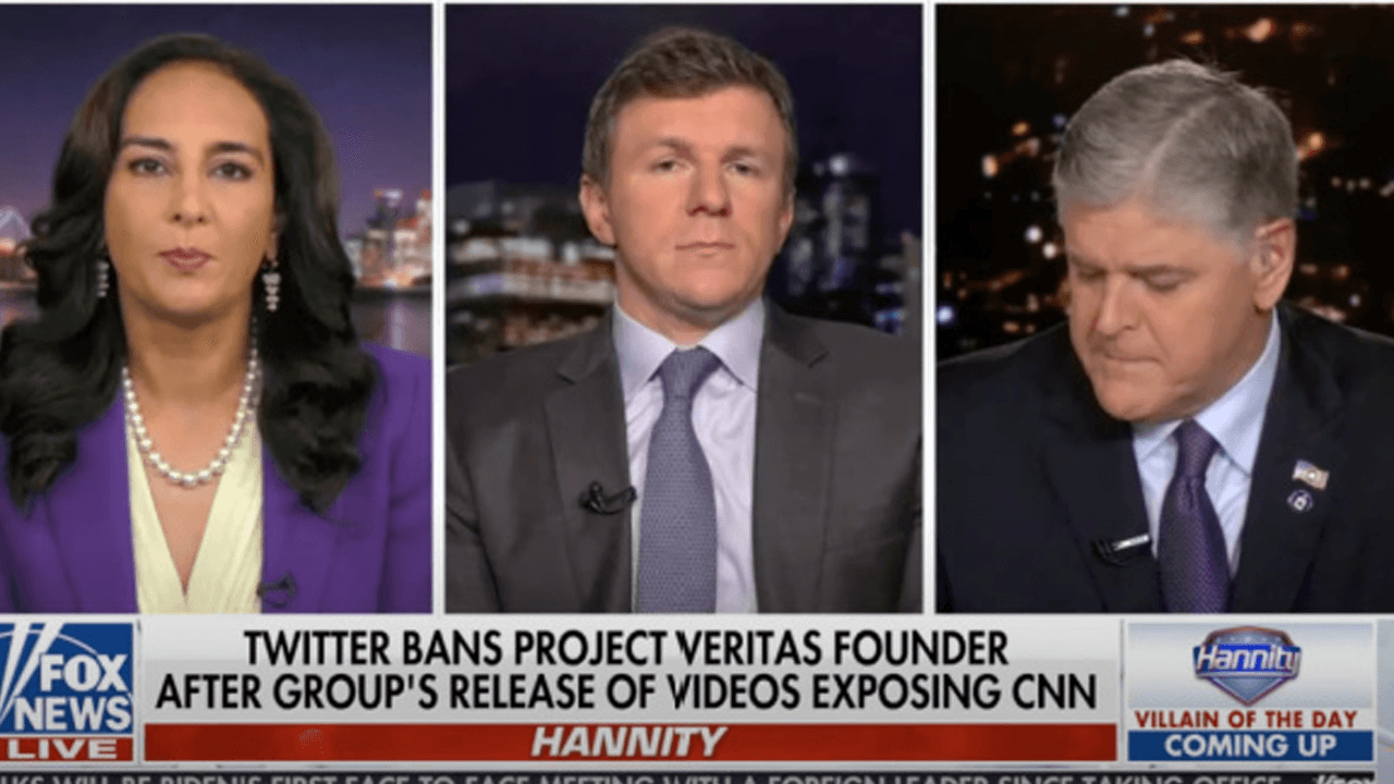 Project Veritas founder plans to sue Twitter after being suspended following CNN exposé