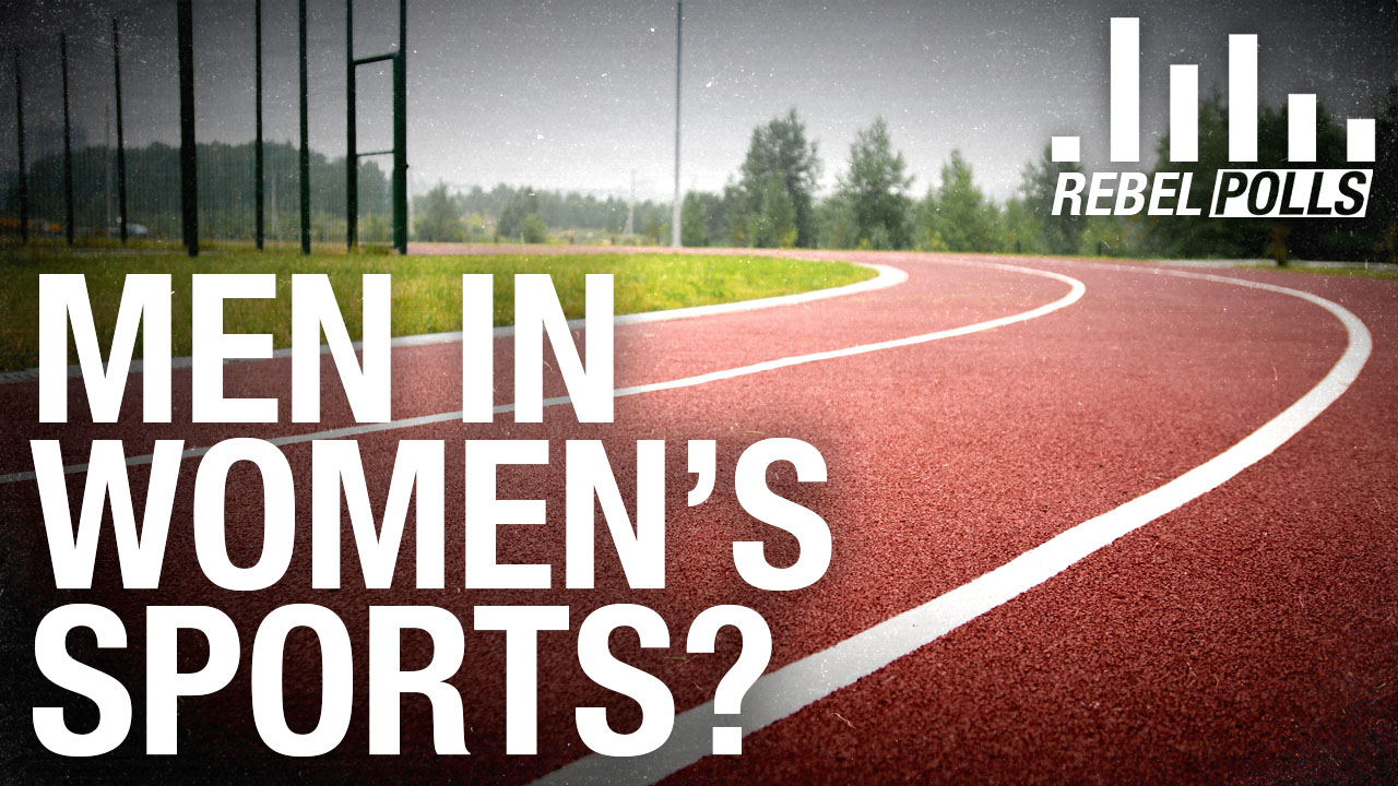 REBEL POLL: 44% of Canadians support laws banning biological males from competing in women's sports