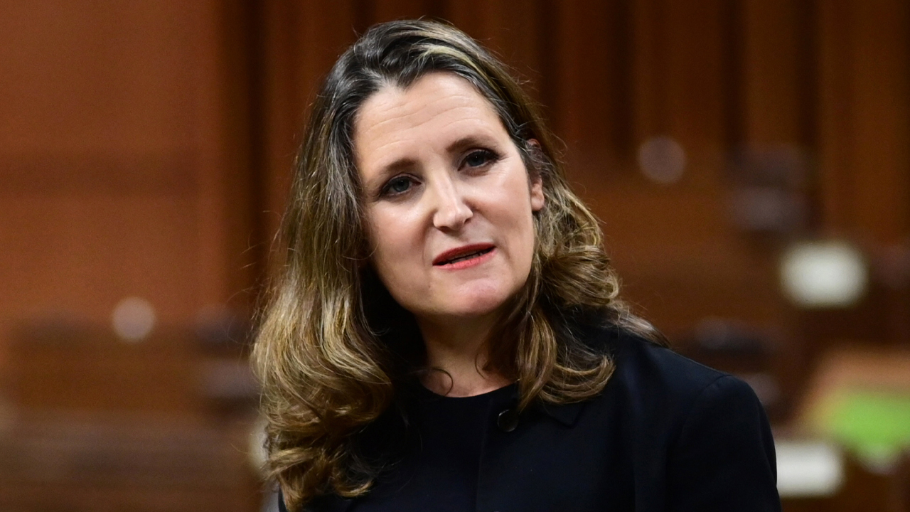 WATCH LIVE: Trudeau's Federal Budget 2021 with Finance Minister Chrystia Freeland