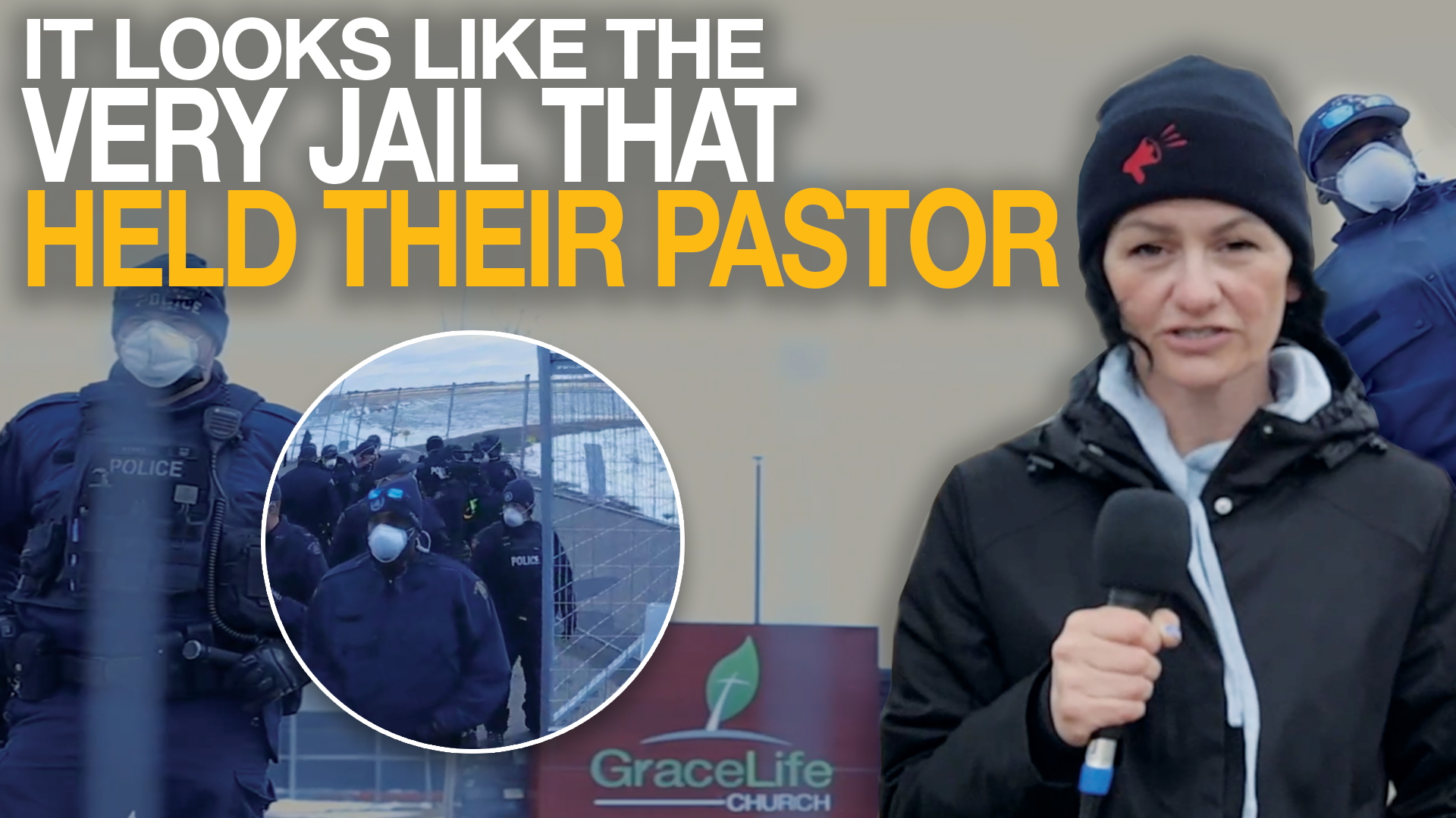 Rebel News attends illegal GraceLife church service at secret location