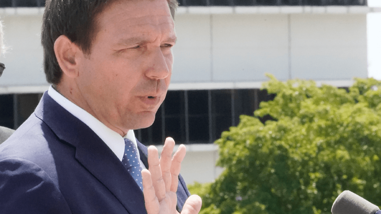 DeSantis defends bill banning biological males from girls' sports