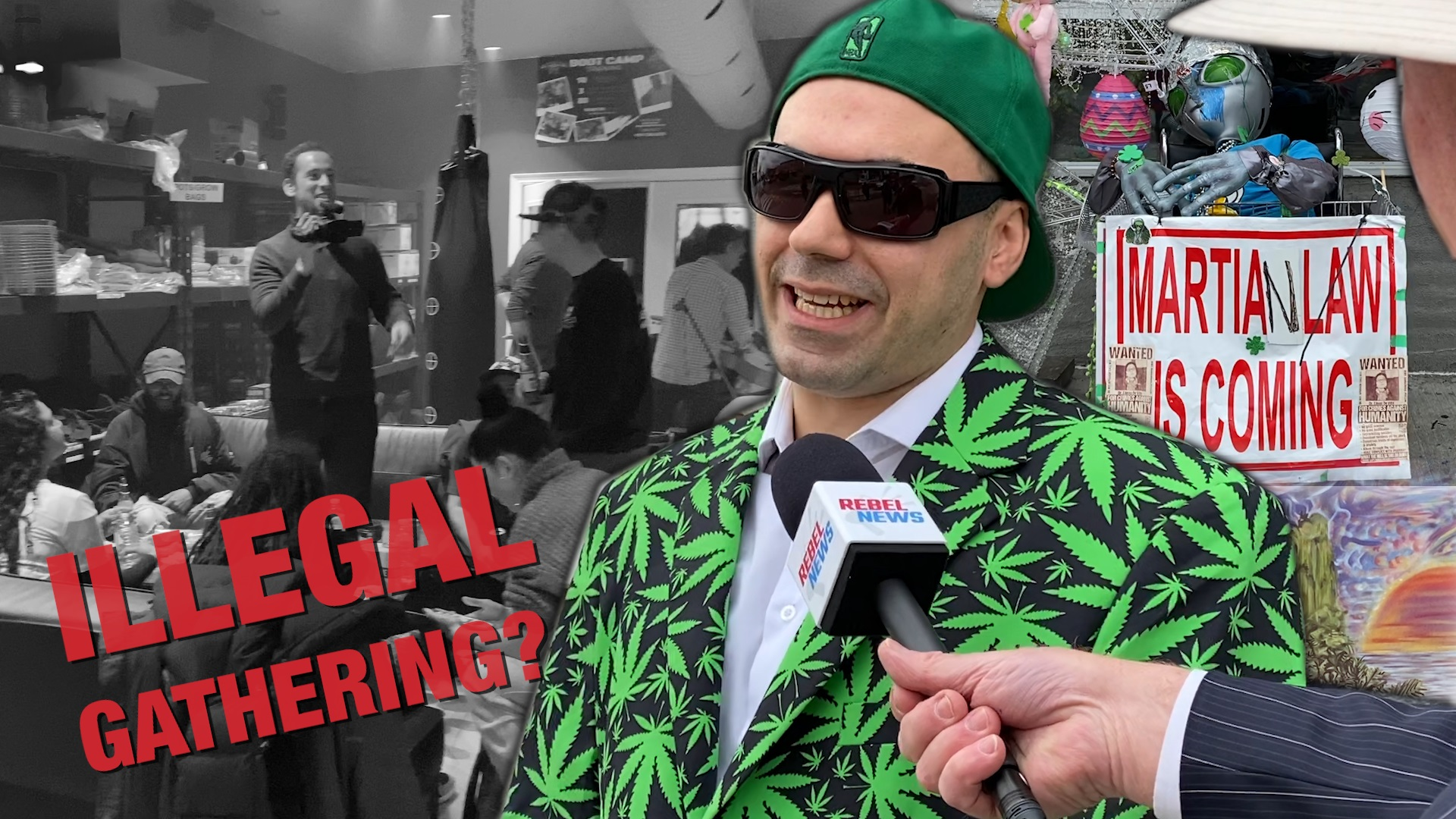 Toronto pot shop defies lockdown on 4/20