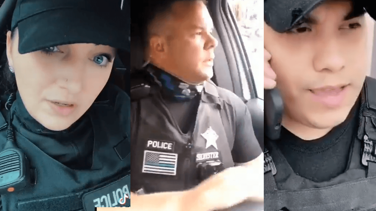 Cops across U.S. take to TikTok to mock LeBron James for comments on Ma'Khia Bryant shooting