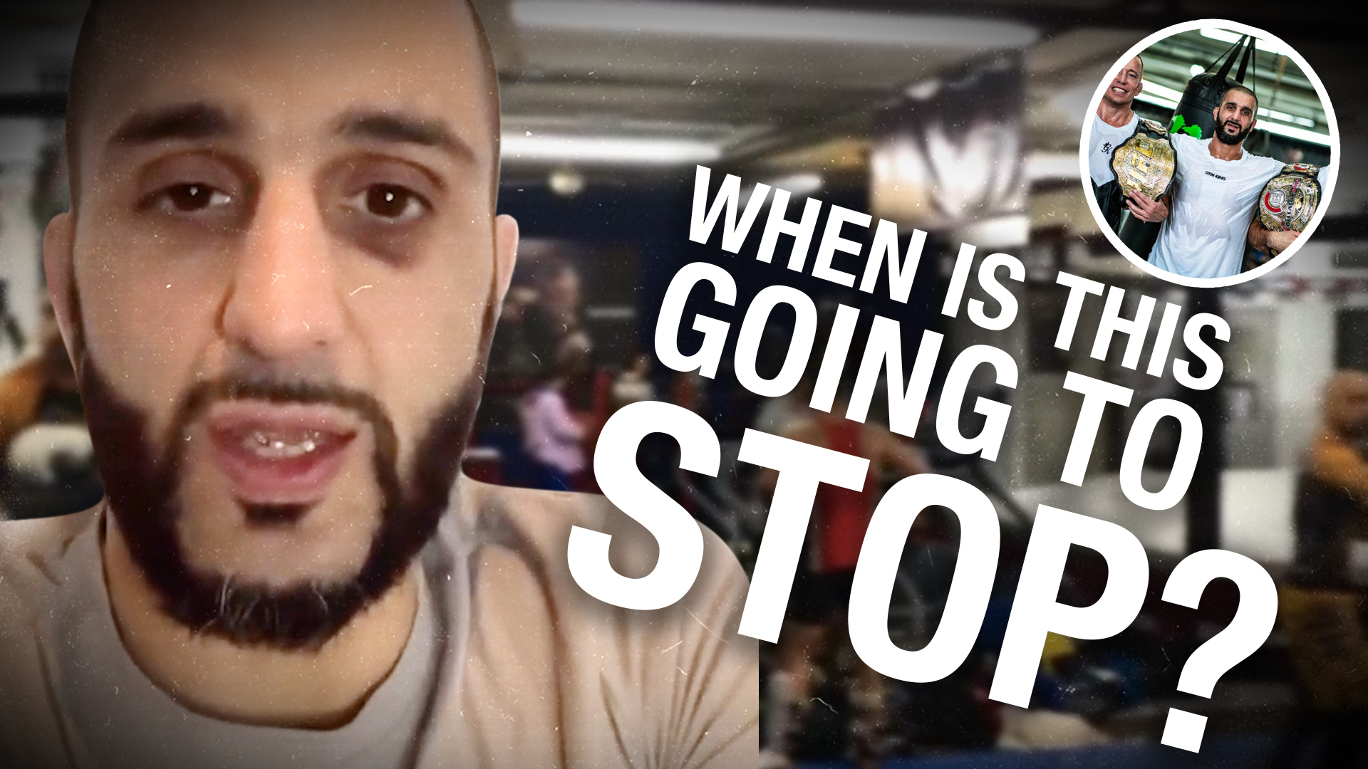 """They've been here 16 times!"": Montreal police harass UFC Trainer Firas Zahabi"