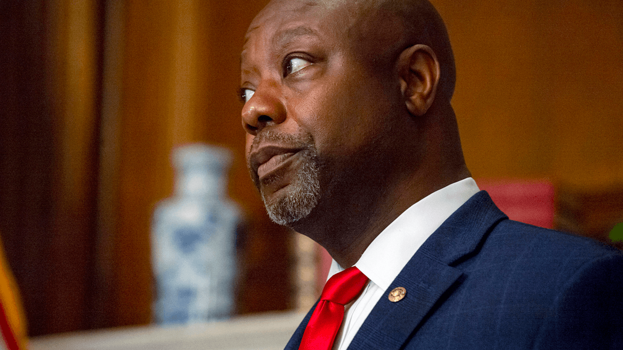 "Sen. Tim Scott attacked as ""Uncle Tim"" after delivering Republican rebuttal to Biden address"