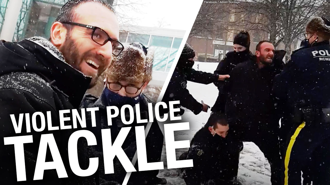 Criminal charges & 30-hour jail stay for protester in New Brunswick