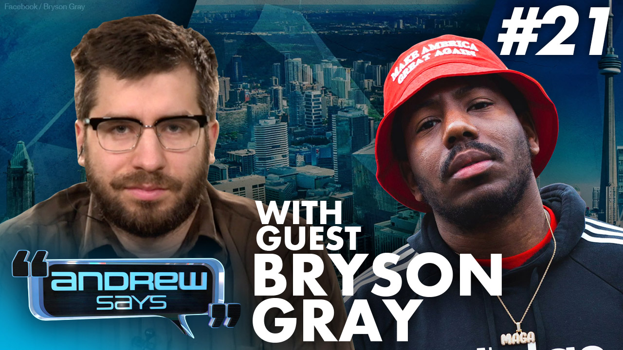 BLM Doesn't Care About Black Men | Bryson Gray on Andrew Says 21