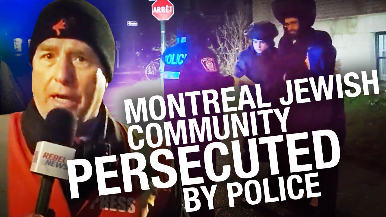 "Another Friday, another night of Montreal police going on ""Jew Patrol"""