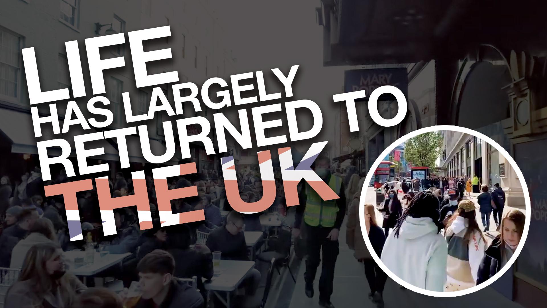 Rebel in London: Investigating the UK lockdown