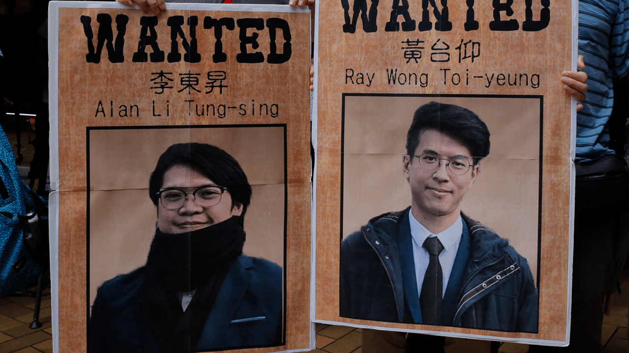 Hong Kong protesters lobby Canadian gov't to speed up political asylum process