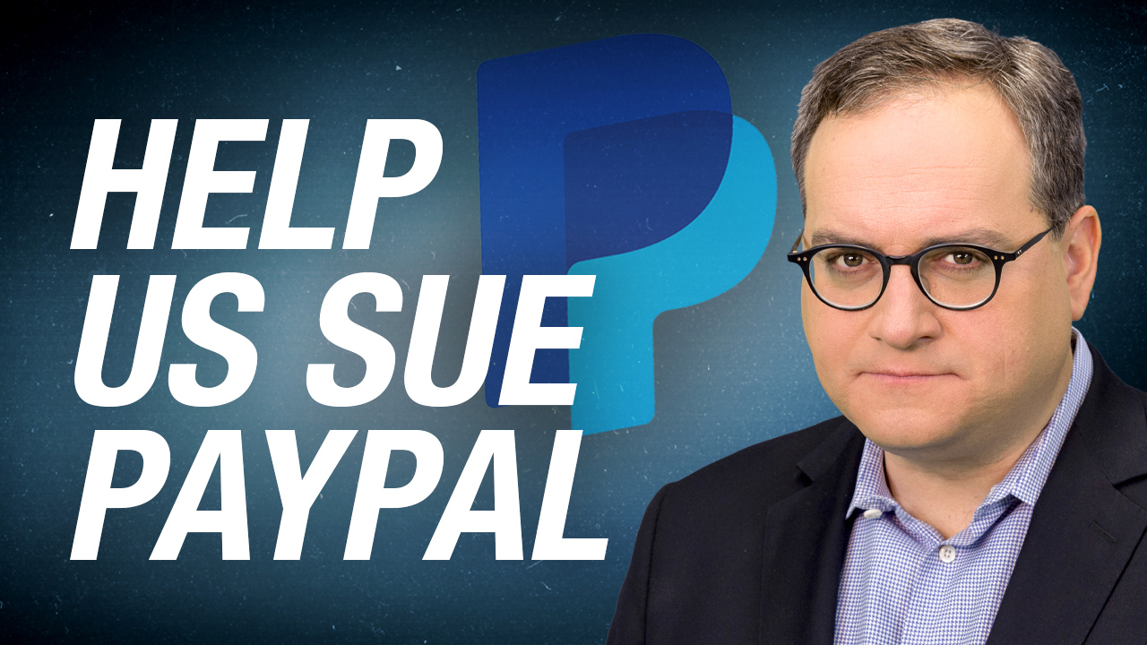 SAVE REBEL NEWS: PayPal is trying to shut us down