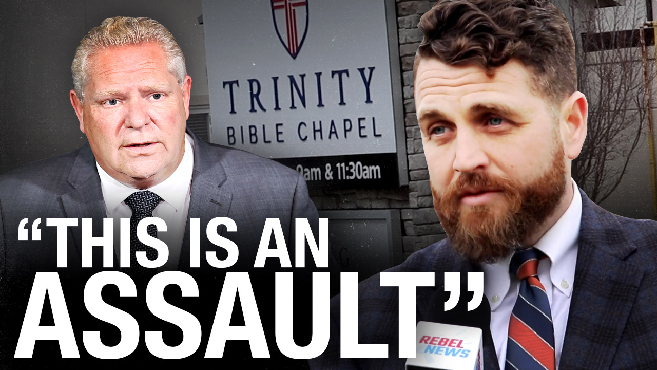 The state continues its war on religion by shutting Trinity Bible Chapel church