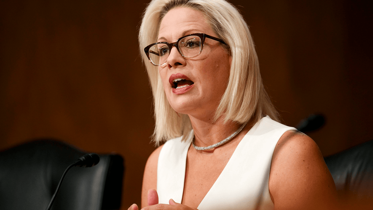 "Democrat Sen. Kyrsten Sinema calls out Biden on avoiding the border: ""This is a crisis, we all know it"""