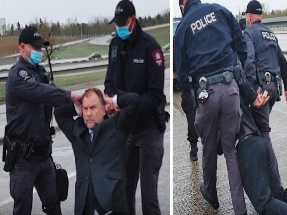 BREAKING: Calgary Pastor Artur Pawlowski ARRESTED moments after church today