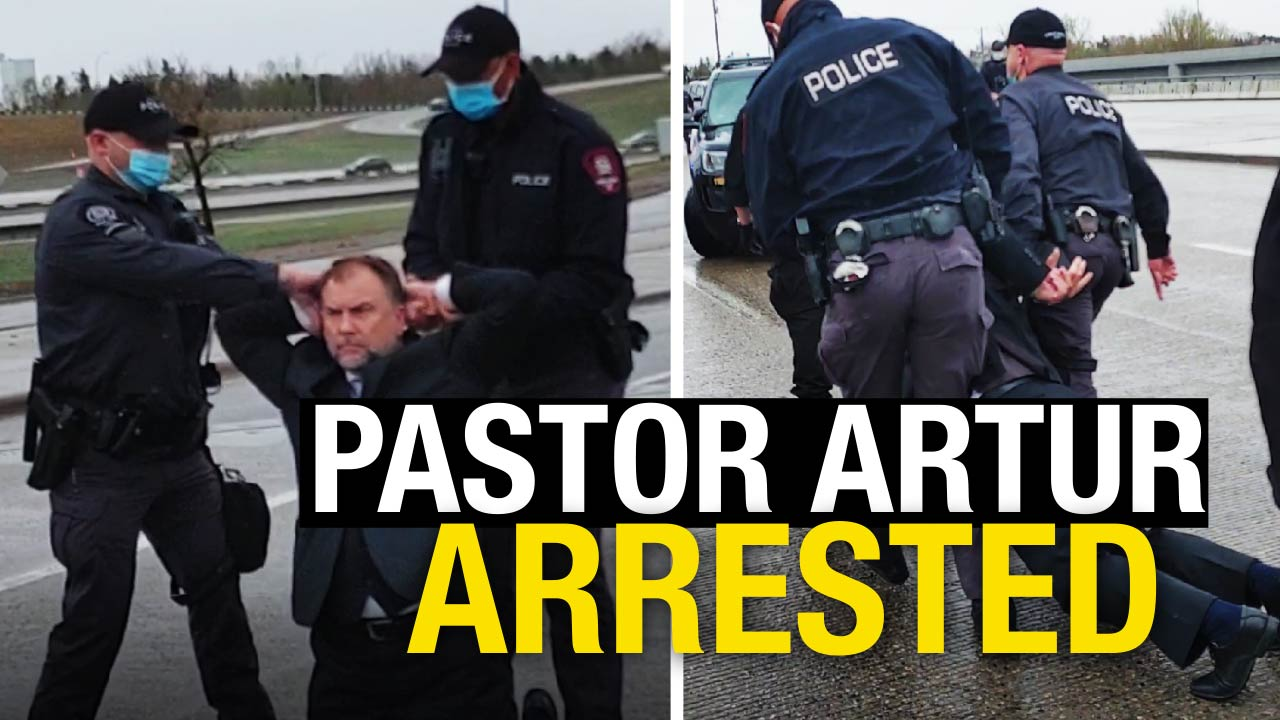 POLICE STATE: Watch the moment a SWAT team arrests a Canadian pastor