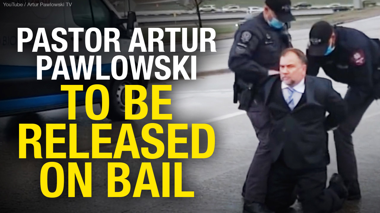 BREAKING: Canadian court grants bail to jailed Christian pastor Art Pawlowski — he'll be released within hours!