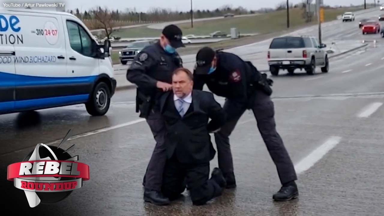 Pastor Art Pawlowski, Whistle Stop Cafe Arrest