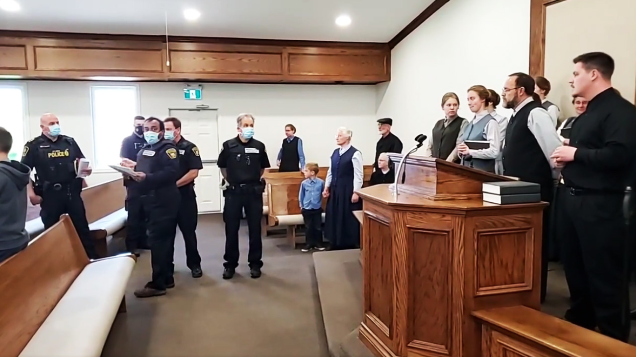 Police in Ontario seize Aylmer Church of God, pastor fined for holding services