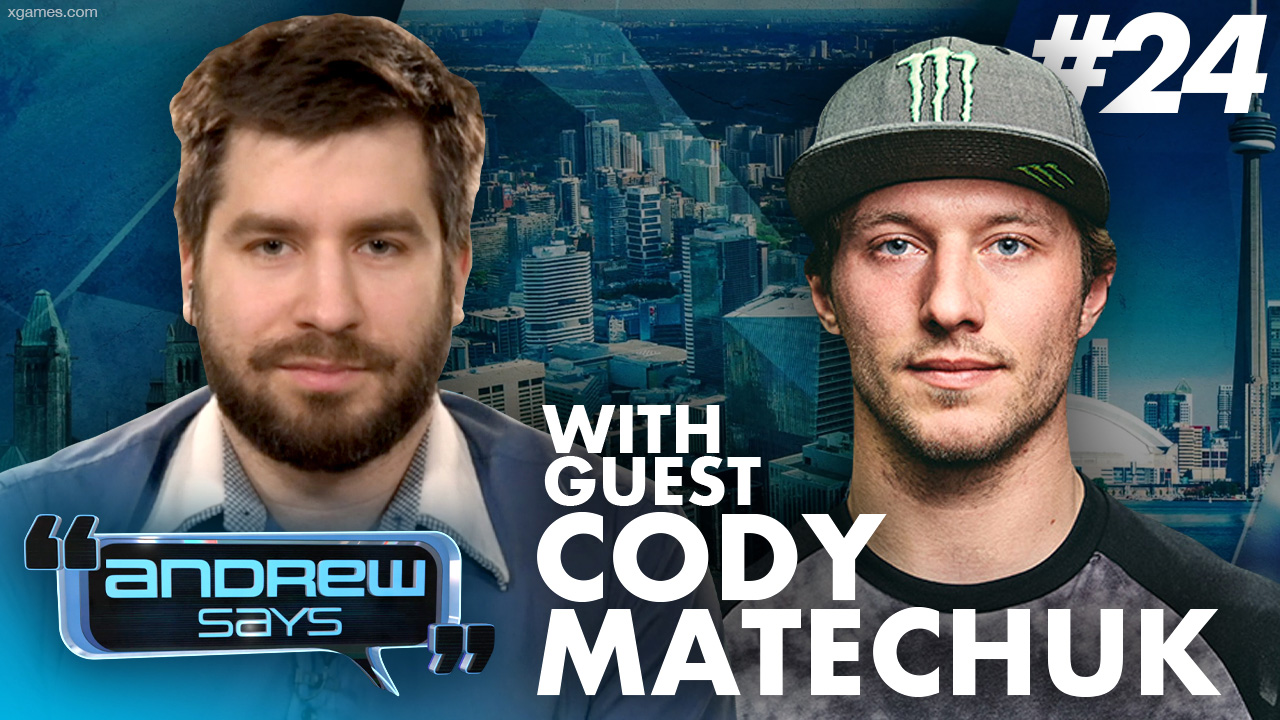"""""""Fighting for freedom... I won't back down"""": X Games gold medalist Cody Matechuk 