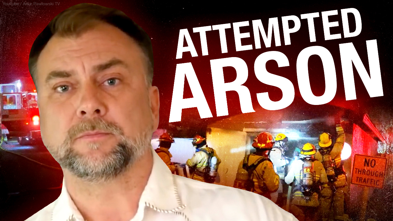 SHAMEFUL: Arsonists attack Pastor Artur's home in Calgary