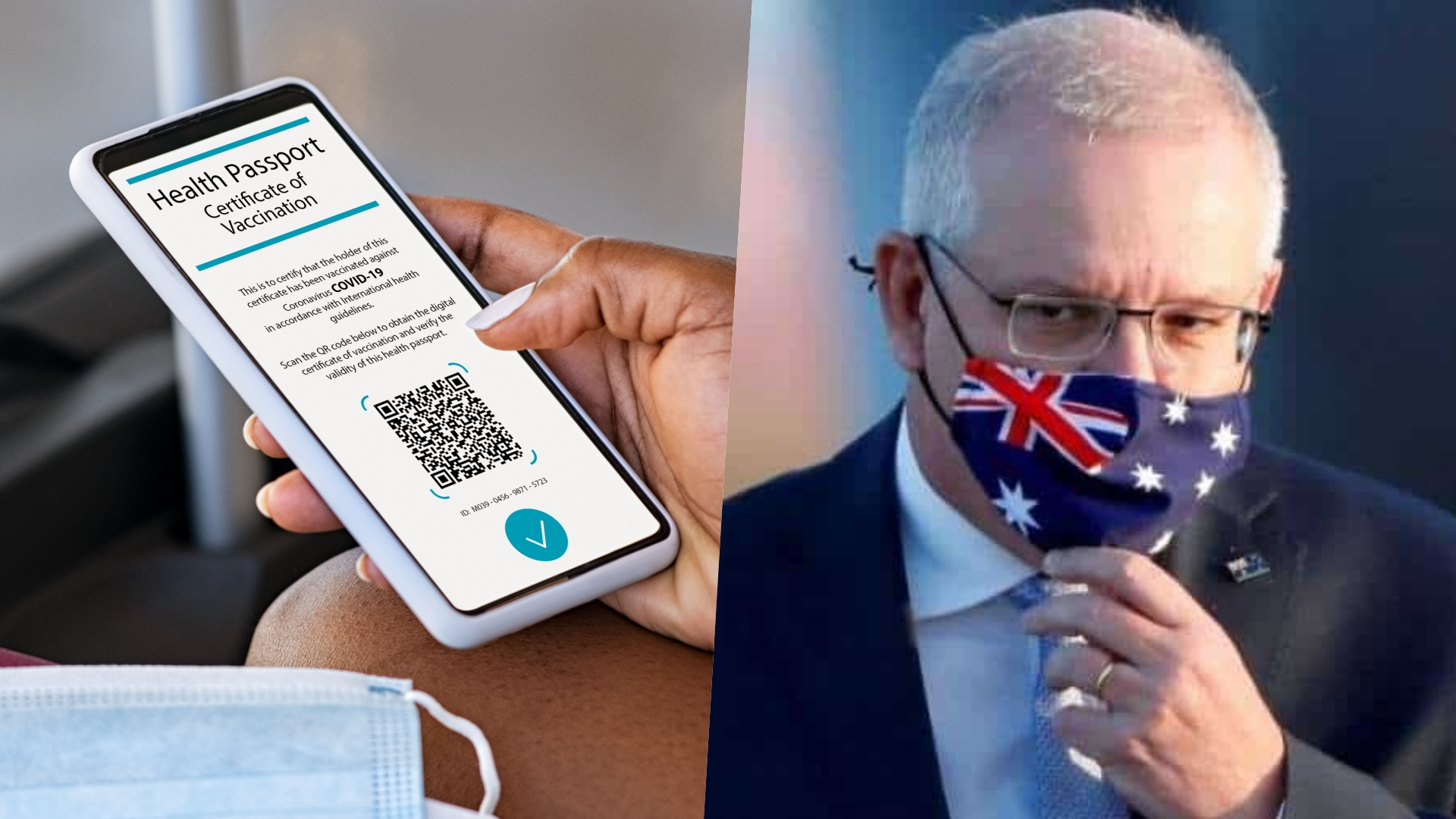 Australian prime minister suggests COVID passport for travel between states