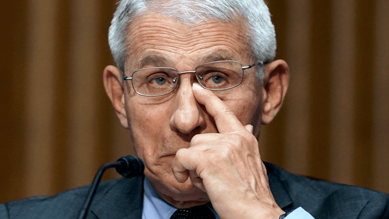 Fauci spotted still wearing masks despite saying vaccinated people don't need to wear them