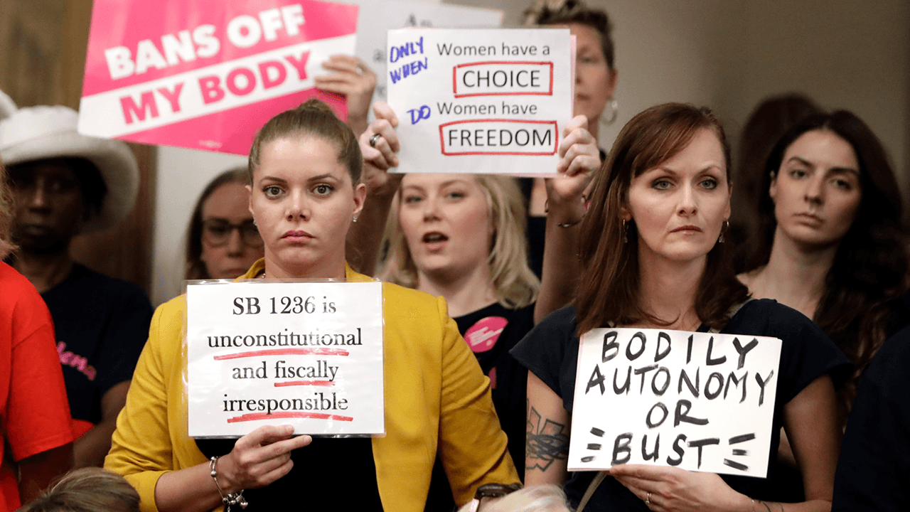 Texas governor signs 'heartbeat bill' banning abortions as soon as fetal heartbeat detected