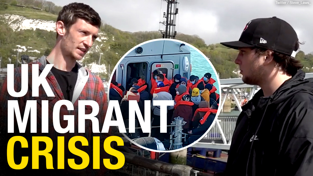 Migrants continuing to enter U.K. through English port of Dover