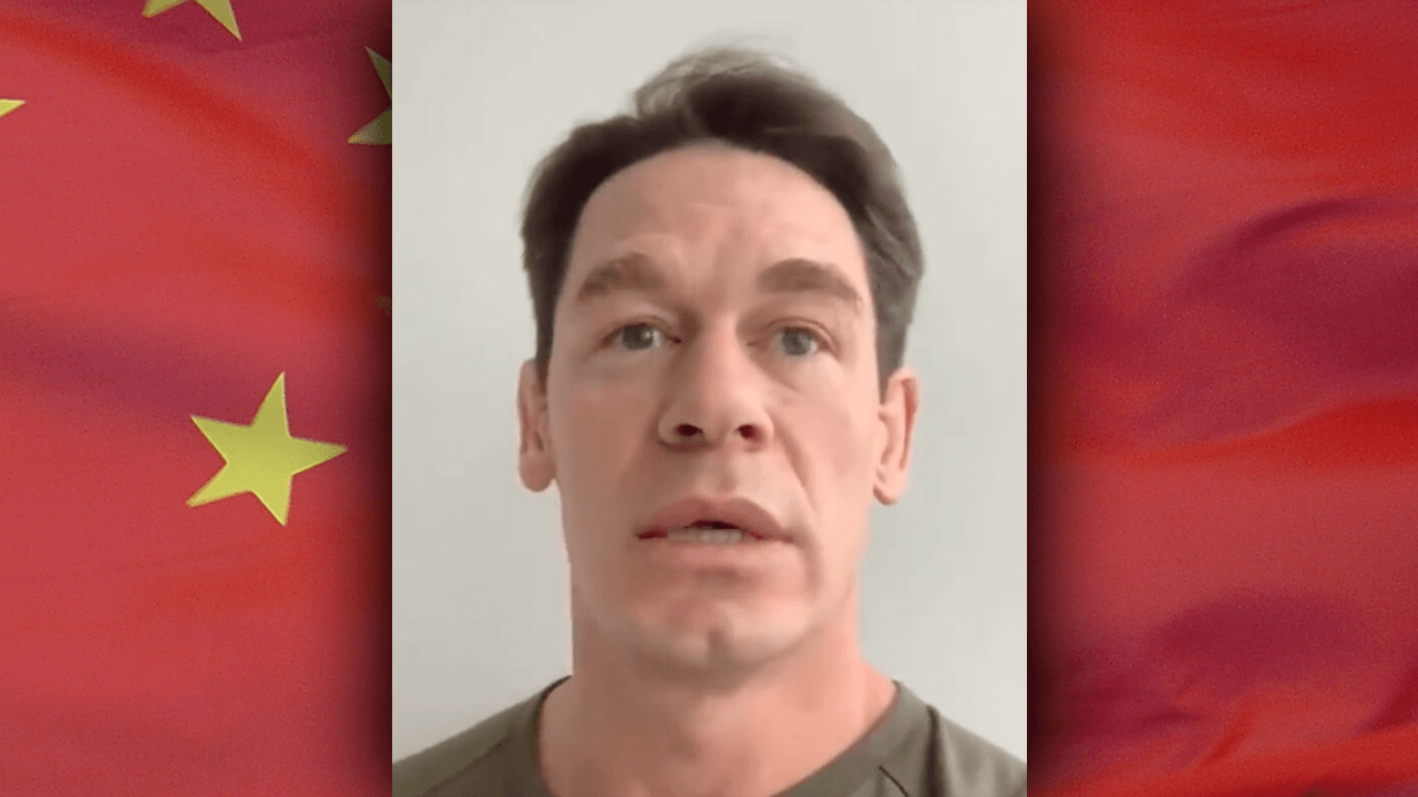 John Cena apologizes for calling Taiwan a country after backlash from China