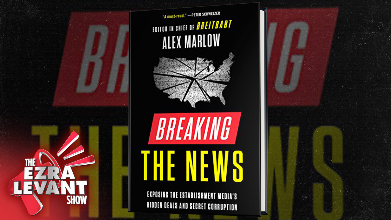 Alex Marlow on Andrew Breitbart, Section 230 and his new book 'Breaking The News'
